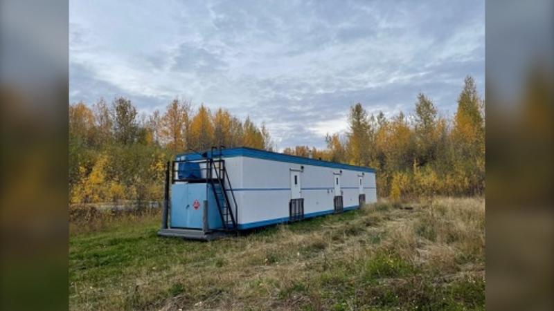 Stolen industrial equipment from industrial camp.