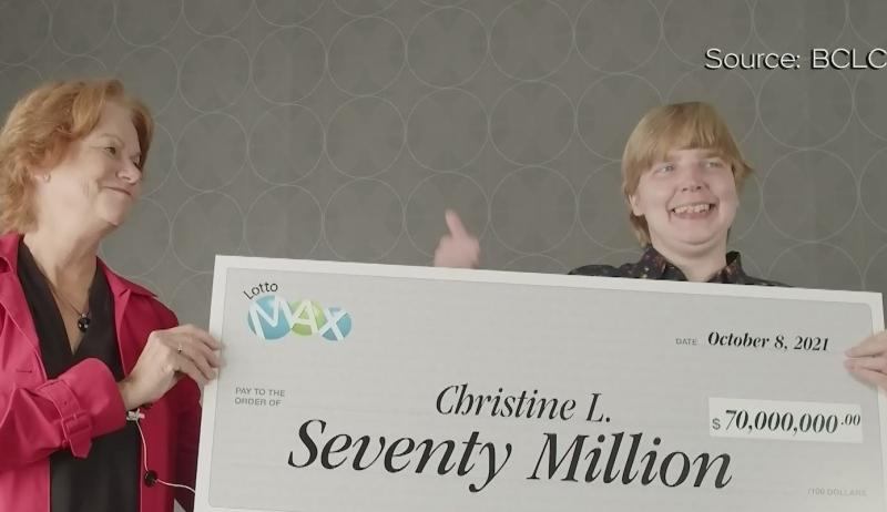B.C.'s $70M Lotto Max winner revealed