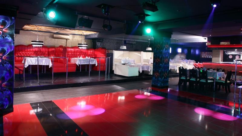 An empty nightclub dance floor is seen in this undated image. (Shutterstock)