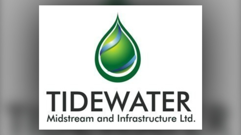 Calgary-based Tidewater Midstream and Infrastructure Ltd. faces four charges under Alberta's Environment Protection and Enhancement Act. (File)
