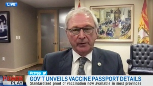 Higgs on federal plans for vaccine passport