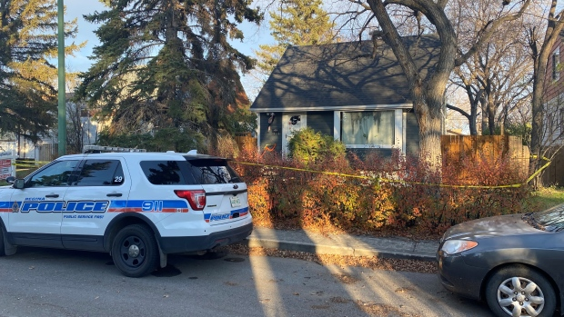 Regina police have launched an investigation into the city's 11th homicide on the 900 block of King St. (Gareth Dillistone/CTV News)