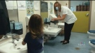 It was Child Care Worker and Early Childhood Educator Appreciation Day on Thursday, a day to recognize early child care professionals who work with young children on a daily basis. (Photo from video)