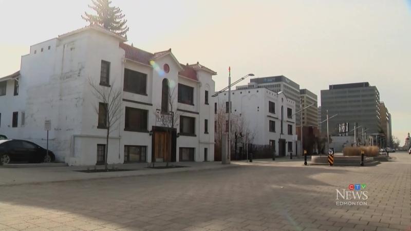 Unique apartment complex reduced to rubble