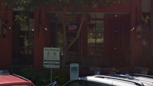 The exterior of Splitz Grill in Whistler, B.C., is seen in a Google Maps image captured in 2017.