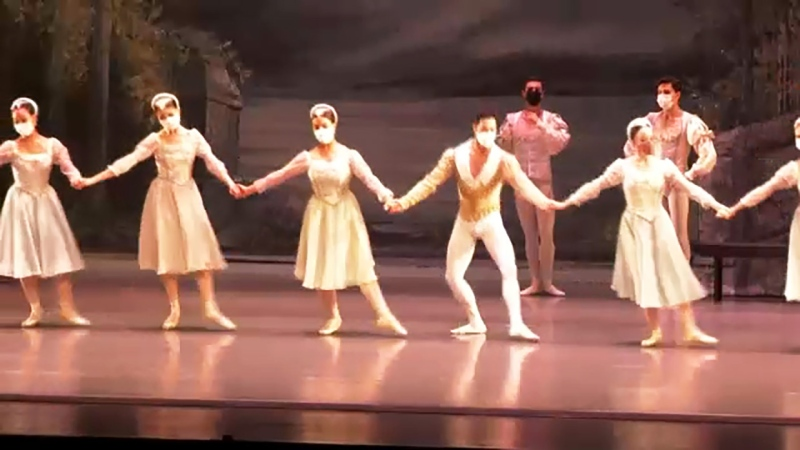Alberta Ballet are back on stage with a new adaptation of Swan Lake at the Jubilee Auditorium