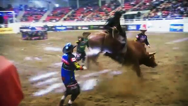 Pro bull riding returns to Calgary Saturday night. Glenn Campbell reports