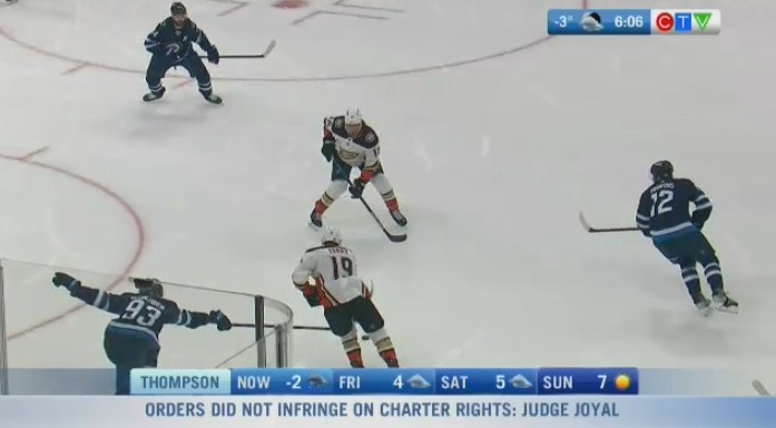 Jets power through on home ice to first win