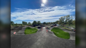 The Inglewood Bike Pump Track will officially open to the public on Oct. 23. (Parks Foundation Calgary)