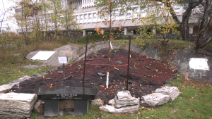 Laurentian opens new garden and trail aimed at recovery and restoration. Oct 21/21 (Ian Campbell/CTV Northern Ontario)
