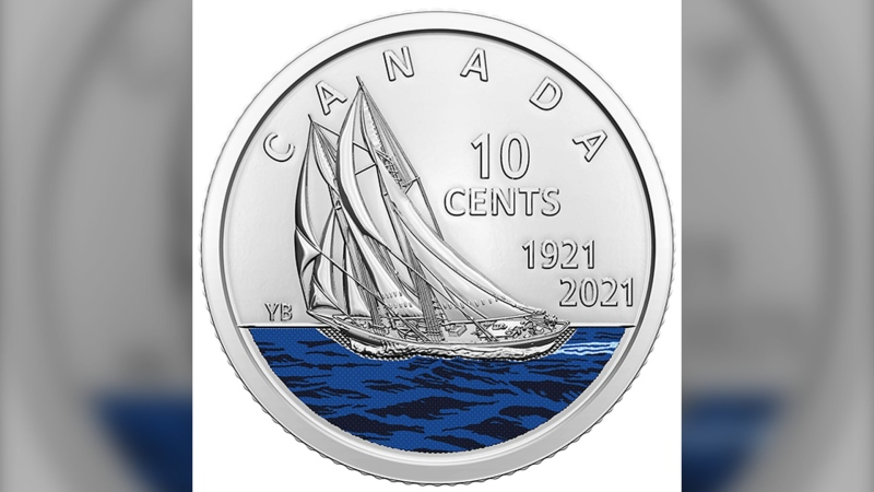 Canadian dime gets a makeover