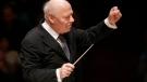 Bernard Haitink conducts the Boston Symphony Orchestra, on Nov. 20, 2009. (Steven Senne / AP)