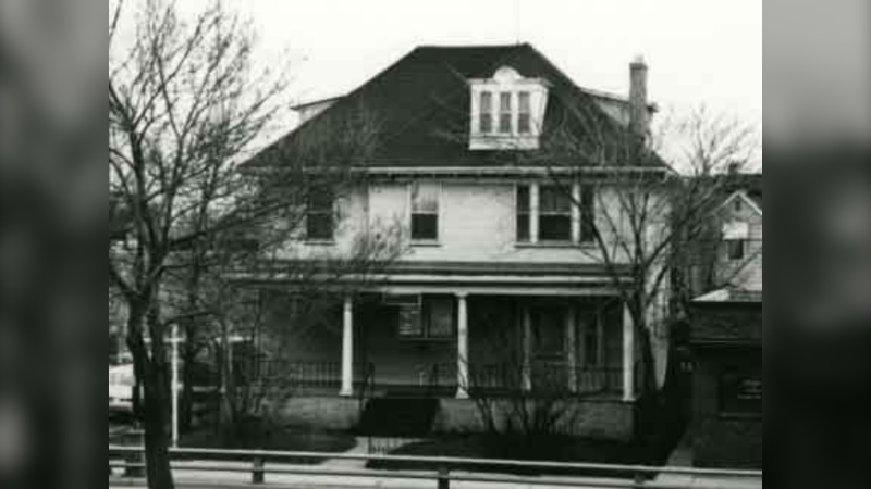 Hamilton House is shown in this archival photo donated by the Hamilton family to the University of Manitoba Library Archives. (Source:University of Manitoba Library Archives)