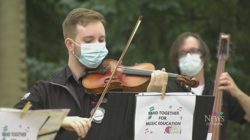 Performers push to bring music programs back