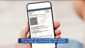 National proof of vaccination card on its way