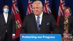 Ontario Premier Doug Ford on Friday, Oct. 22, 2021. (Source: CTV News)