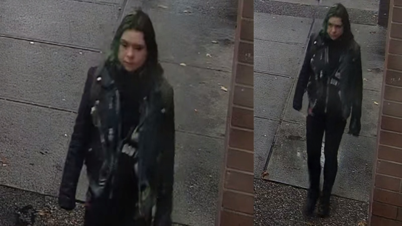 Police are trying to identify a suspect wanted in connection with an assault on a Tim Hortons employee in Vancouver, B.C., on Oct. 20, 2021. (Handout)