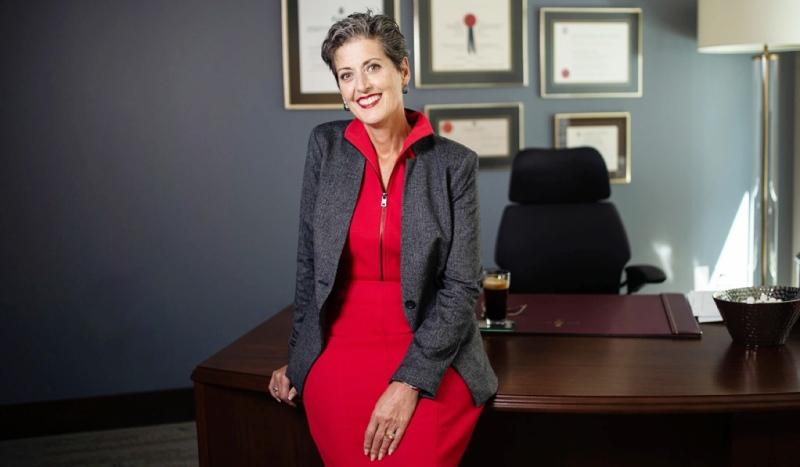 Sudbury's Josée Forest-Niesing, a member of the Canadian Senate, is in hospital, her office confirmed Friday. (Photo from sencanada.ca.)