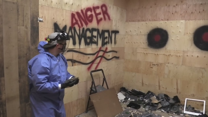 New businesses lets you smash out your anger