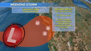 The storm will be another bomb cyclone but stronger than the one we just dealt with on Thursday. (CTV News)