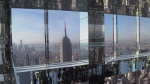 New glass observation deck in NYC opens to public