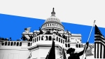 Just days after insurrectionists stormed the Capitol on January 6th, Facebook's Chief Operational Officer Sheryl Sandberg downplayed her company's role in what had happened. (CNN Illustration/Getty Images)