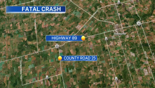 OPP are investigating after a seven-year-old girl was killed, and three others injured, in a two-vehicle collision on Hwy. 89 in Melancthon on Fri. Oct 22, 2021.