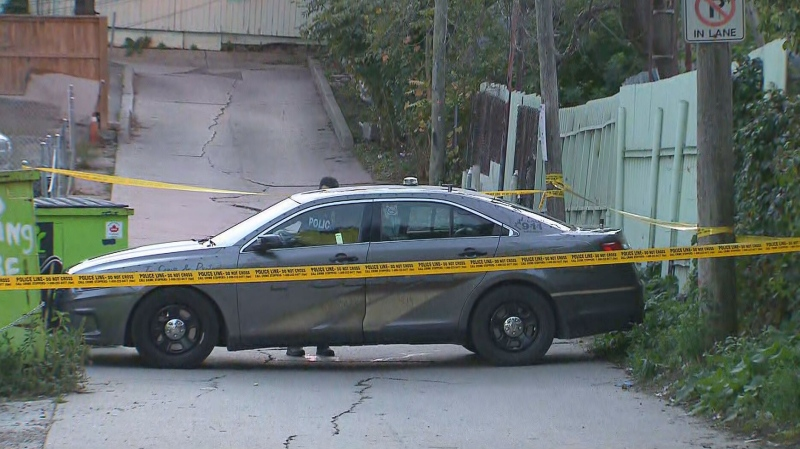 A man in his 30s is dead following an early morning shooting near Keele Street and Eglinton Avenue West.