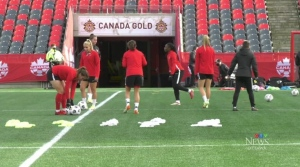 Canada's Olympic champion women's soccer team are