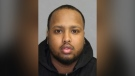Abilaziz Mohamed, 32, is wanted for first-degree murder in fatal shooting in the parking lot of a Boston Pizza restaurant in Scarborough on Oct. 13, 2021. (Toronto Police Service)