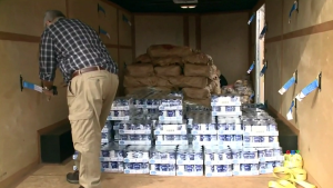 For eight years, Mickey McNeil has been collection donations for the Glace Bay Food Bank, and with the price of just about everything sky-rocketing, he says the demand is greater than ever.