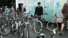 Bike Again, a volunteer-run organization held its semi-annual bike sale on Saturday, in an effort to get more bicycles on the streets of Halifax.
