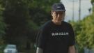 """Skateboarder and residential school survivor Joe Buffalo is seen here in a screen shot from the documentary film """"Joe Buffalo."""""""