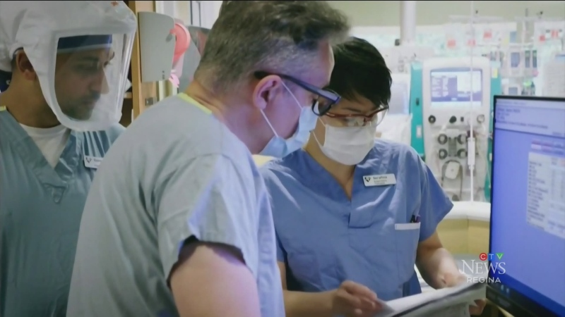 Health care workers experiencing burnout