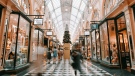 Stock image of the inside of a shopping mall. (Unsplash, Heidi Fin)