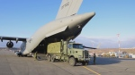 The Canadian Armed Forces says its members have arrived in Nunavut's capital to assist with the city's ongoing water emergency. (Twitter, Canadian Armed Forces Operations)