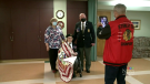 At the age of 96, Greg MacNeil is the last surviving Second World War veteran at the Royal Canadian Legion Branch 78 in Dominion, and for that he received the Quilt of Valour.