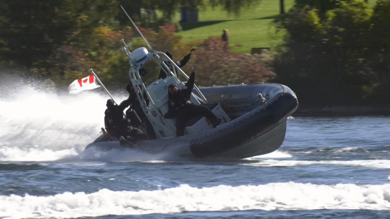 Navy training wraps up in Barrie