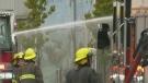 Firefighter injured battling Main Street fire