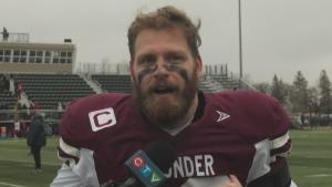Regina Thunder celebrate historic win