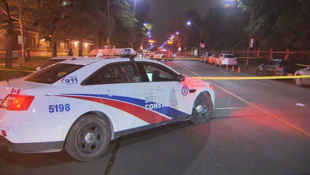 Toronto police are investigating a shooting in St. James Town that left one man seriously injured.