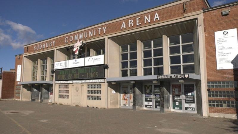 Sudbury Community Arena. Oct. 22/21 (Molly Frommer/CTV Northern Ontario)