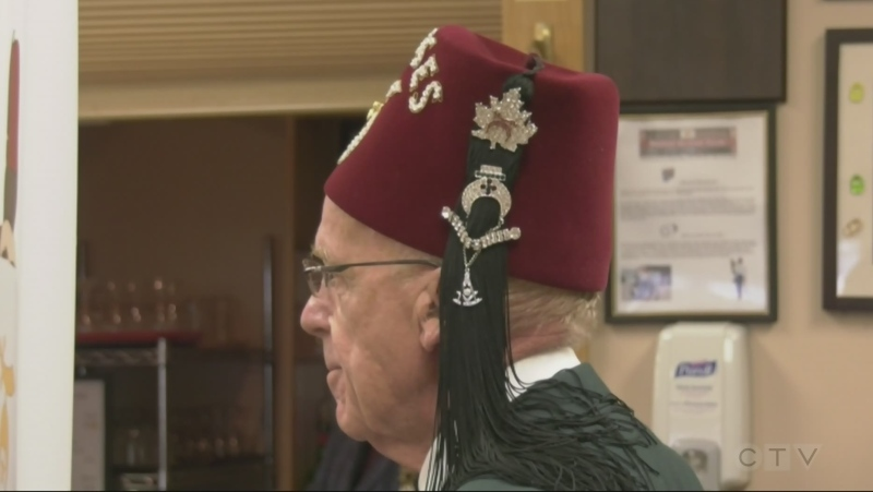 Shriners gather in North Bay for fundraiser. Oct. 24/21 (Jaime McKee/CTV Northern Ontario)