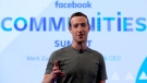 In this Wednesday, June 21, 2017, photo, Facebook CEO Mark Zuckerberg speaks at the Facebook Communities Summit, in Chicago. (AP Photo/Nam Y. Huh)