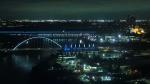 Walterdale, High Level bridges, Edmonton skyline