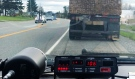 Ontario Provincial Police in Temiskaming say they have charged the driver of a commercial motor vehicle with stunt driving. (Supplied)