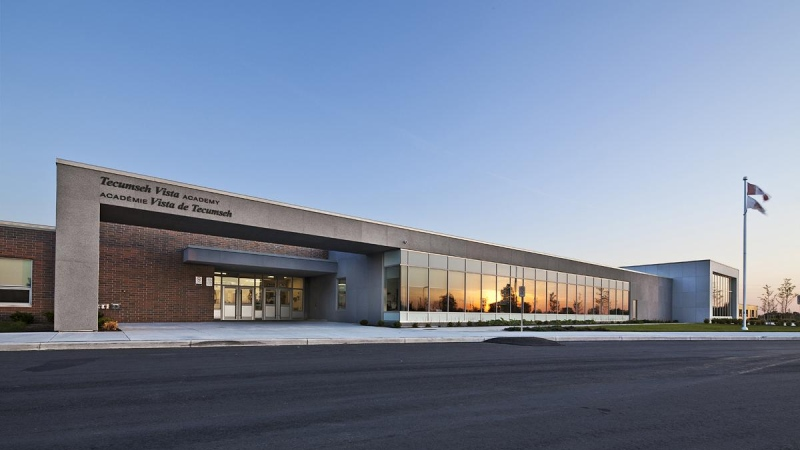 Tecumseh Vista Academy on 11665 Shields St. in Tecumseh, Ont. (Source: www.winconconstruction.com)