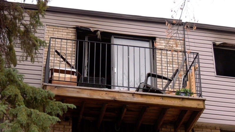 A blaze in the 200 block of Avenue P South was reported in the early morning on Oct. 25, according to Saskatoon Fire Department.