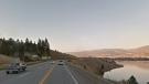 Highway 97 looking north towards Penticton, B.C. (Google Maps)