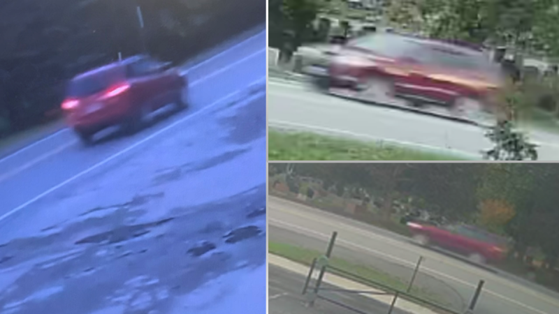 Kingston, Ont. police are asking for help identifying the occupants of the vehicle seen here, who were in the area of a fatal double-shooting on Saturday, Oct. 16, 2021. (Photos submitted by Kingston Police)